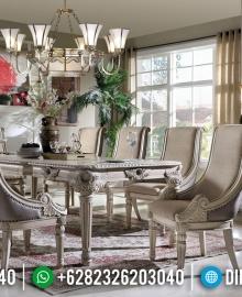 Jual Meja Makan Mewah Jepara Kualitas Export Design Royals Classic Luxury MMJ-0517