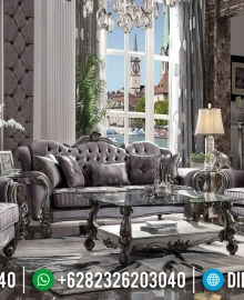 Jual Sofa Tamu Mewah Antik Jepara Classic Luxury Carving MMJ-0572