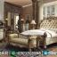 Jual Tempat Tidur Mewah Luxury Carving Jepara Italian Baroque New Design MMJ-0554