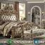 Kamar Set Mewah Classic Royal, Tempat Tidur Ukiran Luxury Jepara Terbaru MMJ-0553