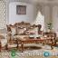 Kursi Sofa Ukiran Desain Ruang Tamu Mewah Natural Jati Luxury MMJ-0577