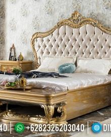 New Set Tempat Tidur Mewah Jepara Pure Golden Duco Glossy MMJ-0555