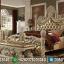 Tempat Tidur Mewah Jepara Ukiran Classic Desain Royals MMJ-0492