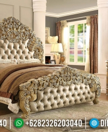 Donatella Version Tempat Tidur Mewah Luxury Carving New Design Royals Classic MMJ-0620