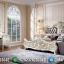 Interior Ideas Set Tempat Tidur Mewah Luxury Classic Golden Glass MMJ-0616