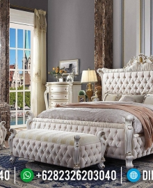 Jual Kamar Set Mewah Mahkota Ukir Cantik Luxury Furniture Jepara MMJ-0605