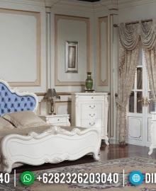 Kamar Set Mewah Luxury Carving White Duco Glossy Furniture Jepara MMJ-0606