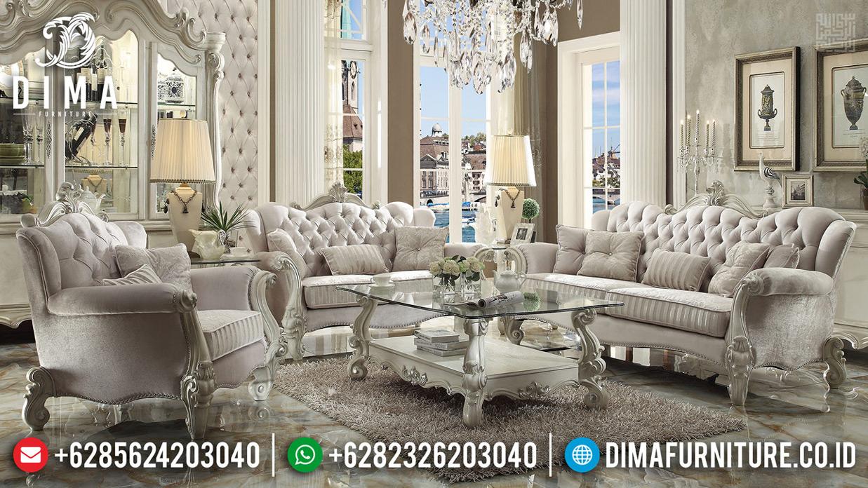 Kursi Tamu Mewah Set Sofa Ukiran Jepara Best Seller Great Quality MMJ-0641