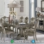 New Set Meja Makan Mewah Ukiran Klasik Luxury Jepara Berkualitas MMJ-0648