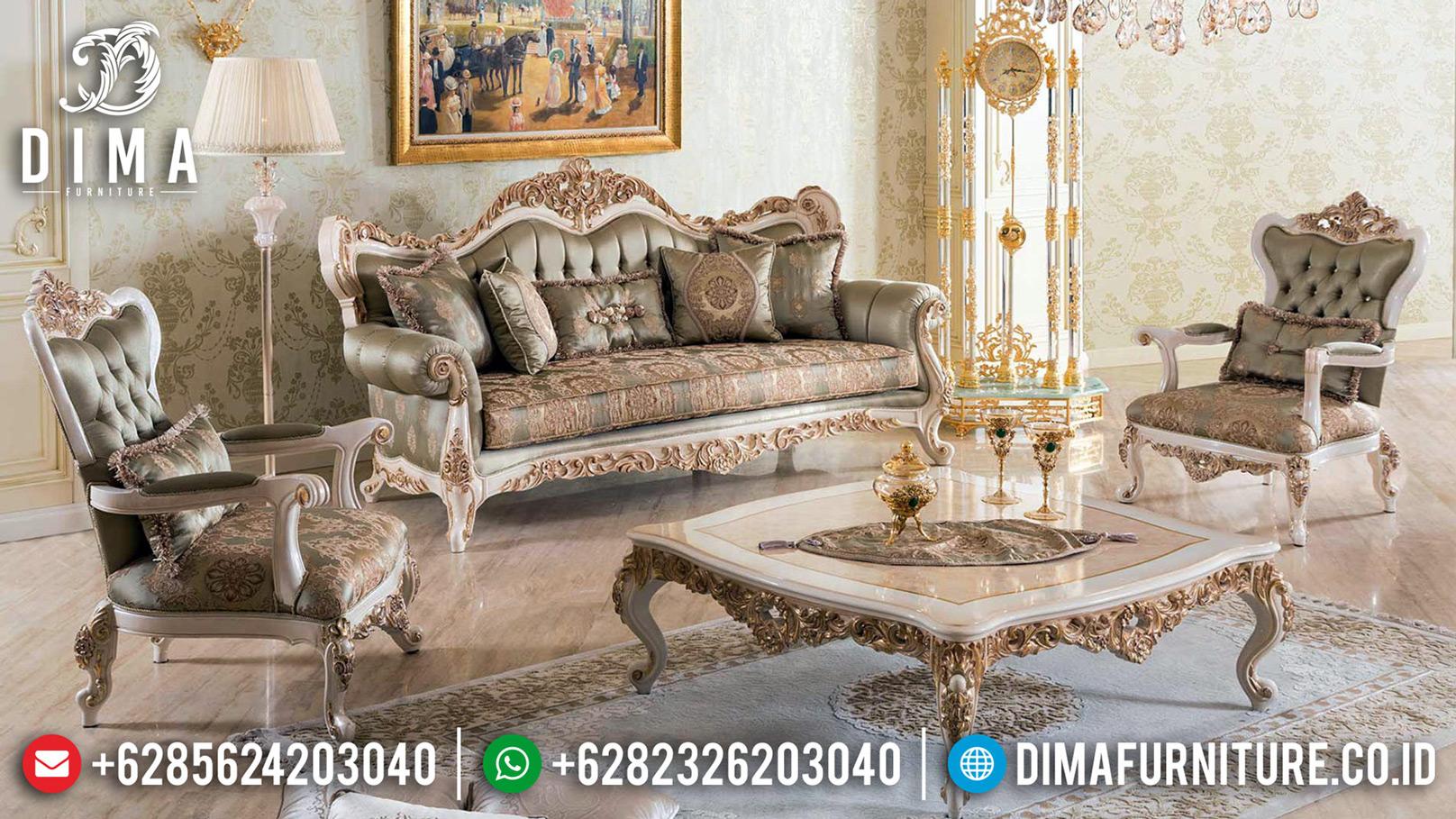 New Sofa Tamu Mewah Ukiran Jepara Luxurian Type Guaranteed Product MMJ-0643