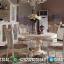 Set Meja Makan Mewah Ukiran Luxury Best Quality Produk MMJ-0631