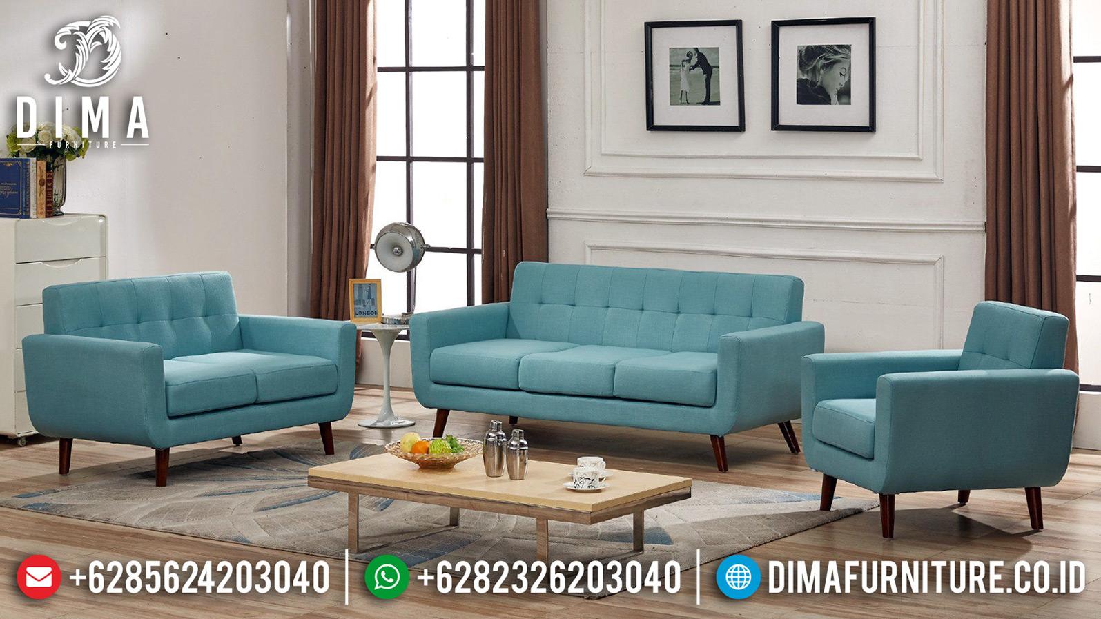 Sofa Tamu Minimalis Kayu Jati Perhutani Discount Sale MMJ-0627