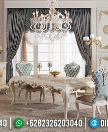 Harga Meja Makan Mewah 6 Kursi Luxury Royals Classic Turkish Carving MMJ-0670