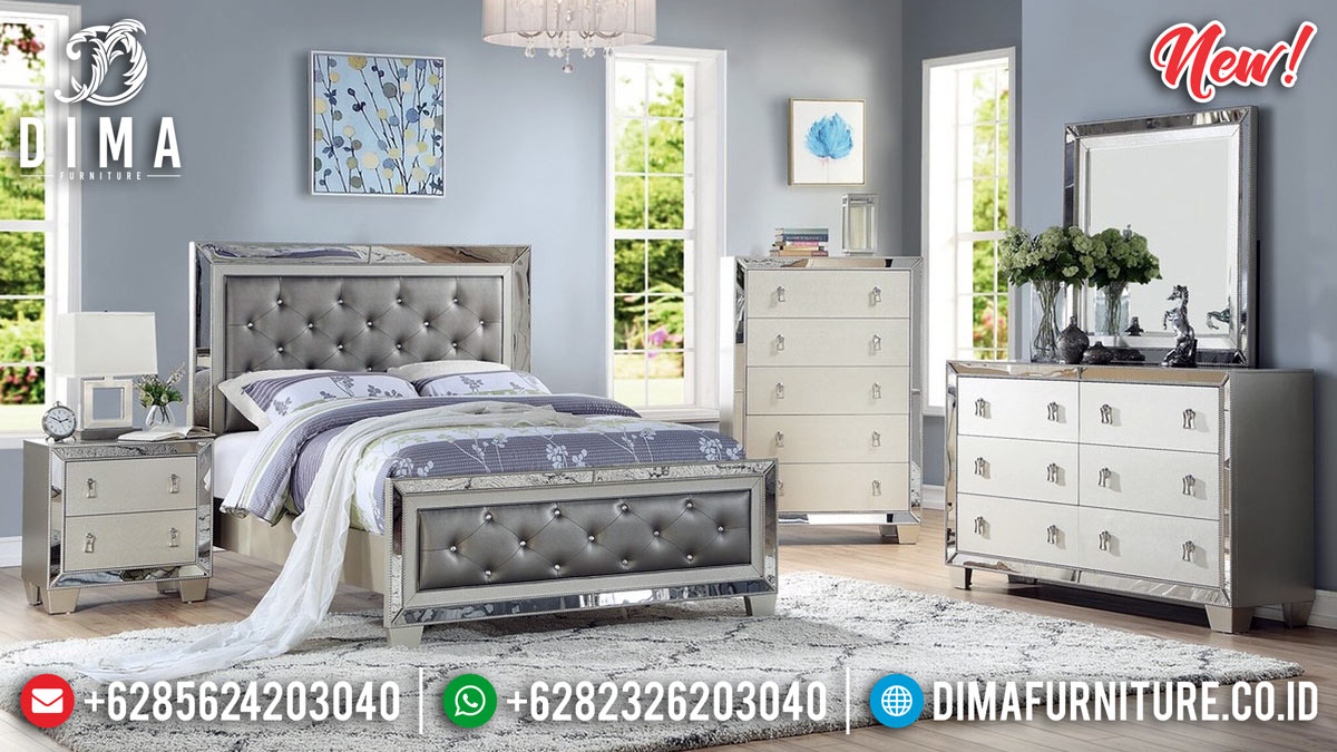 Beautiful Desain Tempat Tidur Minimalis Modern Extraordinary Style MMJ-0789