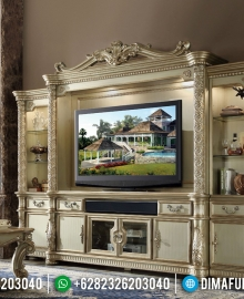 Beli Bufet TV Ukiran Luxury Classic Golden Relief New Shining Color MMJ-0802