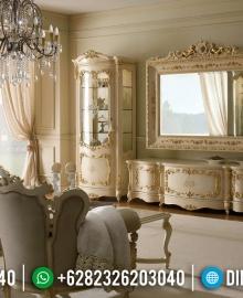 Harga Bufet TV Mewah Luxury Classic Europe Style New Furniture Jepara MMJ-0735