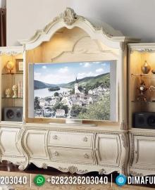 Harga Bufet TV Mewah Ukiran Luxury Jepara Empire Design Inspiring MMJ-0799