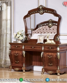 Harga Meja Rias Mewah Jati Ukiran Natural Luxury Classic Great Furniture MMJ-0826