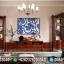 Jual Bufet TV Jati Mewah Luxury Classic New Design Interior Idea MMJ-0737