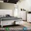 Jual Kamar Set Minimalis Modern Furniture Jepara New White Duco Glossy Best Price MMJ-0747