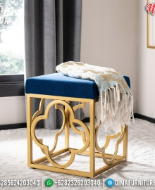Jual Kursi Sofa Minimalis Stainless Steel Epic Style Vanity Room Set MMJ-0794