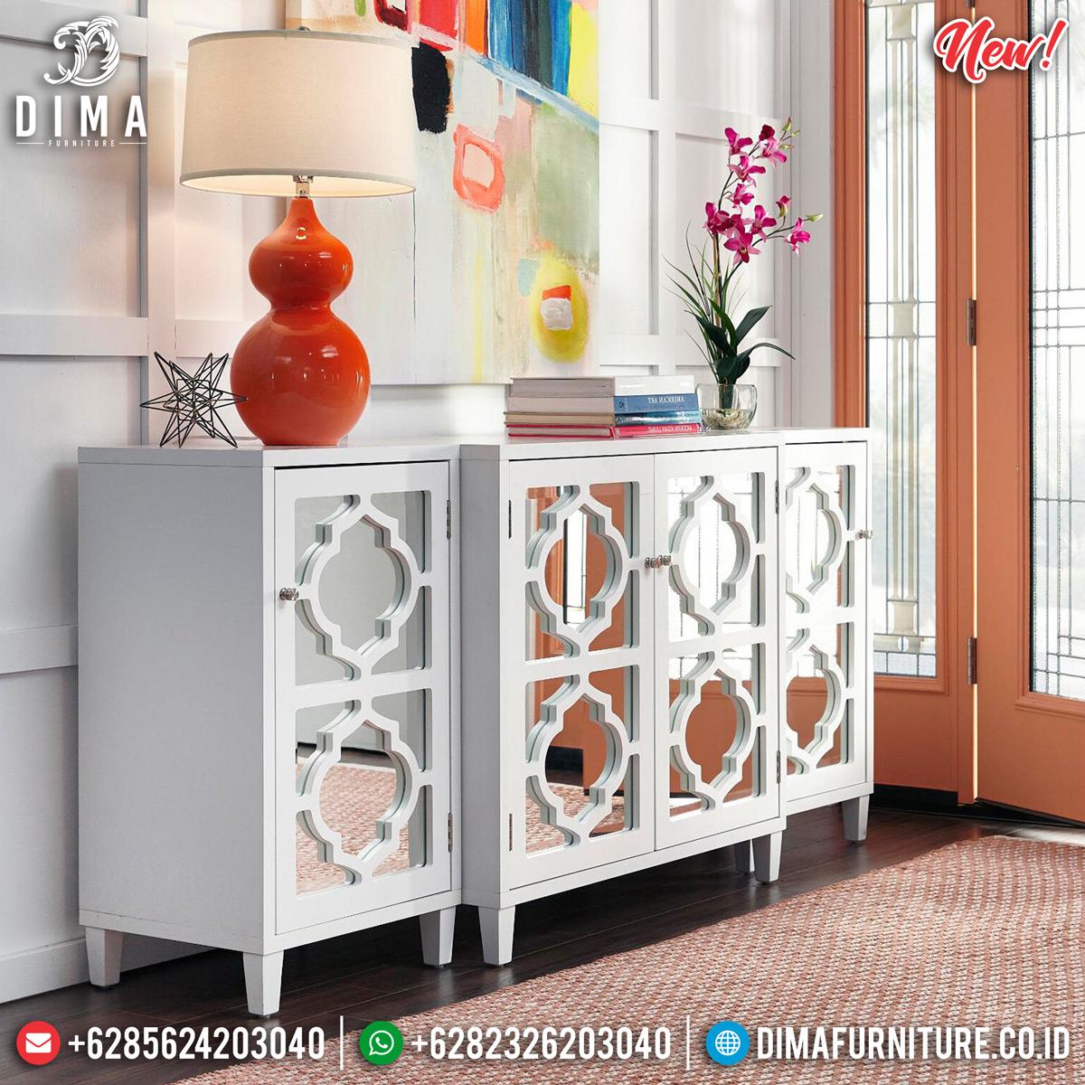 Jual Meja Konsul Minimalis Jepara Luxury Desain New Product 2020 MMJ-0820 Detail