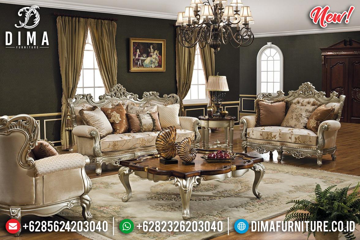 Magnifico Sofa Tamu Mewah Jepara, New Kursi Sofa Tamu Luxury Classic MMJ-0697