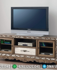 Model Meja TV Minimalis Luxury New Style Furniture Jepara MMJ-0804