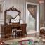 New Desain Meja Rias Mewah Ukiran Jepara Great Wood Perhutani MMJ-0825