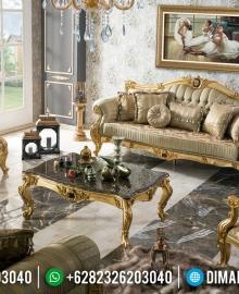 New Model Set Sofa Tamu Mewah Jepara Luxurian Turkish Koltuk Design Superior MMJ-0698