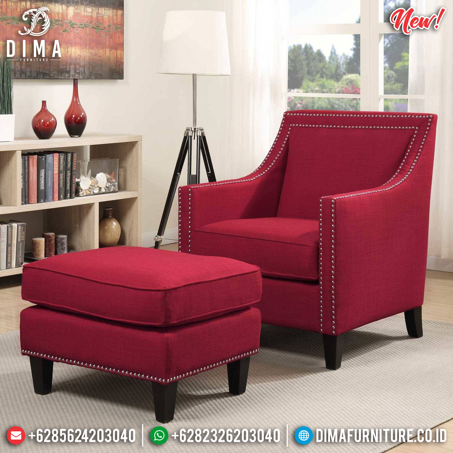 New Model Sofa Minimalist Softly Foam, Sofa Santai Minimalis Jepara MMJ-0817 Model 1