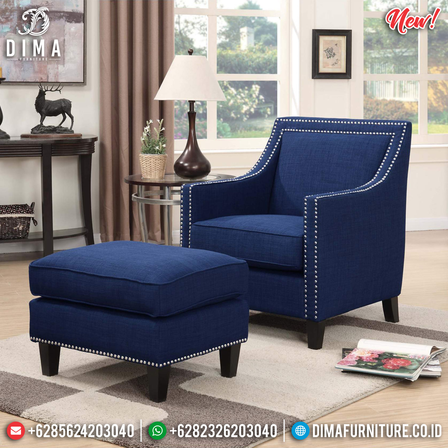 New Model Sofa Minimalist Softly Foam, Sofa Santai Minimalis Jepara MMJ-0817 Model 2