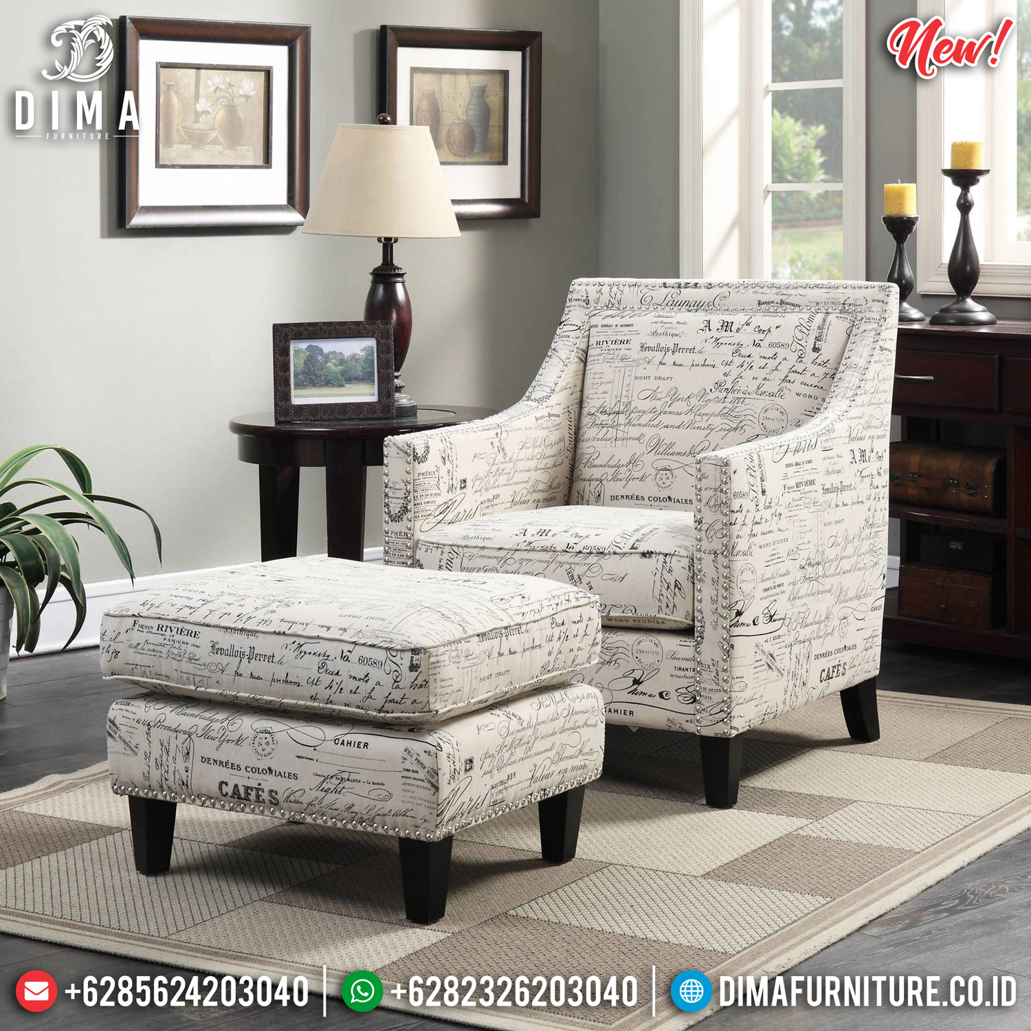 New Model Sofa Minimalist Softly Foam, Sofa Santai Minimalis Jepara MMJ-0817