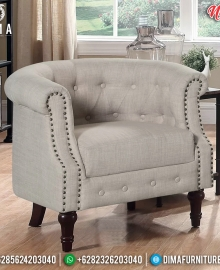 New Sofa Santai Minimalist, Kursi Sofa Minimalis Klasik Retro French Vinatge MMJ-0767