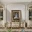 Ornamen Lukis Bufet TV Mewah Luxury Carving Big Sale Furniture Jepara MMJ-0741