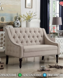 Sofa Minimalis 2 Dudukan Elite Vintage Type Good Looking MMJ-0765