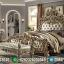Tempat Tidur Mewah Classy Versace Luxury Carving New Set Kamar Tidur Jepara MMJ-0693