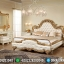 Tempat Tidur Mewah Ukiran Jepara Vespucci Luxury Classic New Design MMJ-0807