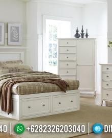 Tempat Tidur Minimalis Putih Duco Desain Interior Inspiring Guaranteed MMJ-0787