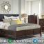 For Sale Tempat Tidur Minimalis Jati Natural Salak Furniture Jepara Terbaru MMJ-0898