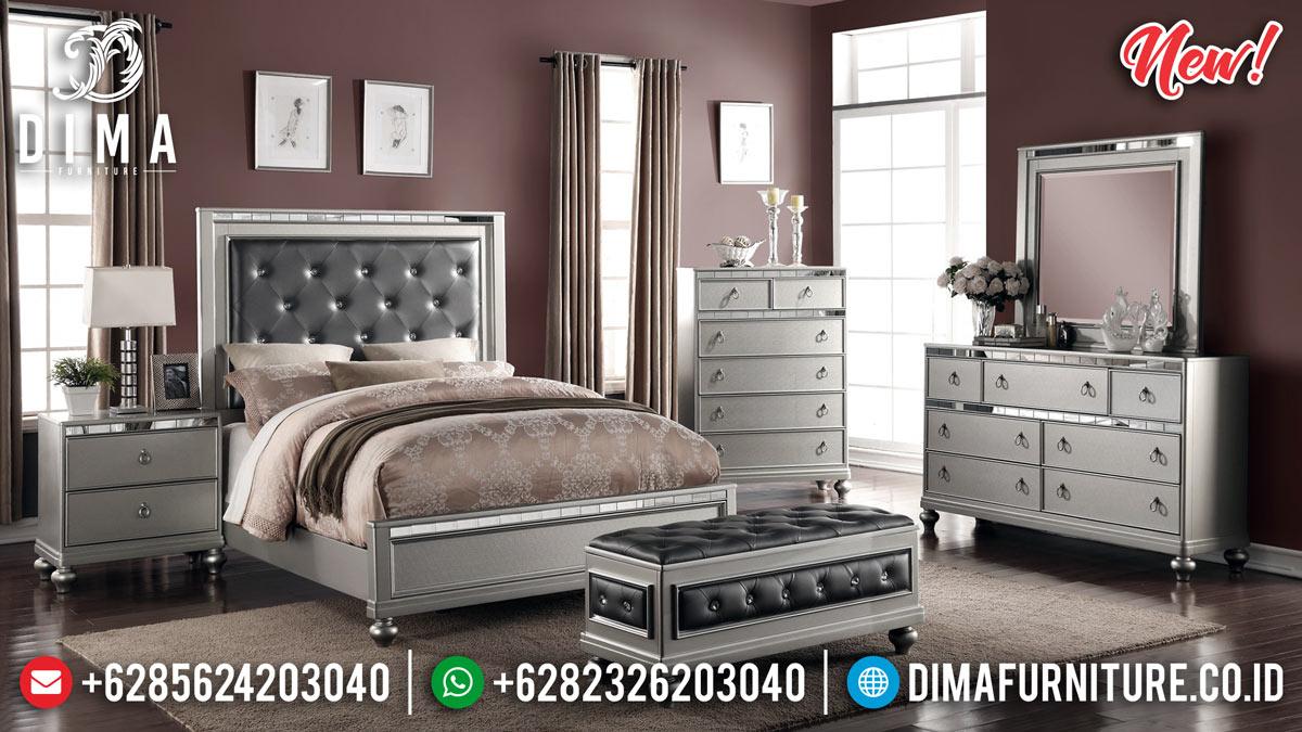 Harga Tempat Tidur Minimalis Modern Jepara Luxury Elite New 2020 MMJ-0883