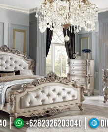 Jual Kamar Set Mewah Luxury Carving Barocco Style Italian Classic MMJ-0866