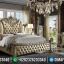 Jual Tempat Tidur Mewah Ukiran Jepara Luxury Classic Design Beautiful Princes MMJ-0871