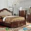 Kamar Set Klasik Kayu Jati Perhutani Warna Natural Best Seller Bulan Juni MMJ-0903