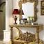Living Room Set Meja Hias Mewah, Meja Konsol Ukiran Jepara New Luxury Carving MMJ-0910