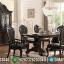 Meja Makan Minimalis Jati Natural Klasik New Mebel Jepara Termurah MMJ-0885