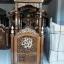 Mimbar Masjid Jati Jepara New Golden Combine Color Natural Salak MMJ-0843