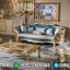 New Model Sofa Tamu Mewah Classic Luxury Gold Carving Design Inspiring MMJ-0838