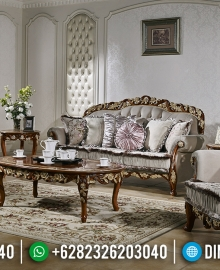 Set Kursi Sofa Tamu Jati Mewah Luxurious Classic Jepara Best Seller MMJ-0833