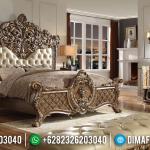 New Set Tempat Tidur Mewah Ukir Classic Elite Golden Jepara MMJ-0925